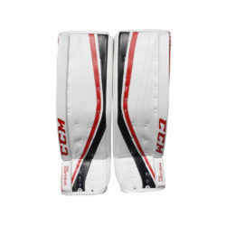 CCM Premier R1.9 Senior Goalie Leg Pads Chicago Colors