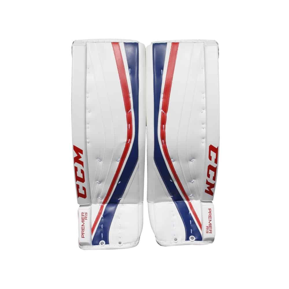 CCM Premier R1.9 Senior Goalie Leg Pads Montreal Colors