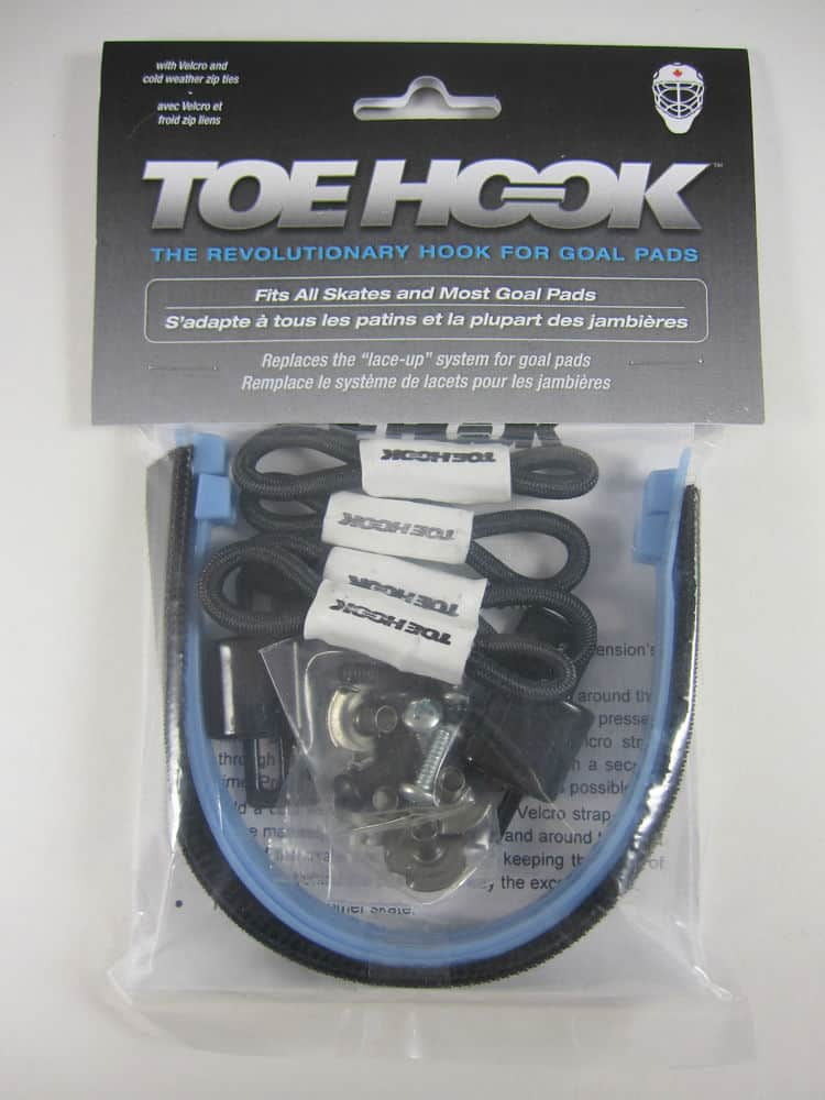 New Toe Hook Hockey Goalie Skates pads tie-down system string replacement pack