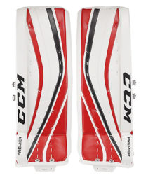 CCM Ice Hockey Goalie Leg Pads Premier Pro Custom Senior