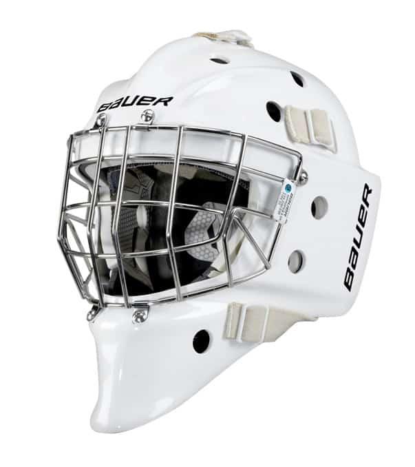 Bauer Profile 950X Sr. Certified Straight Bar Goalie Mask