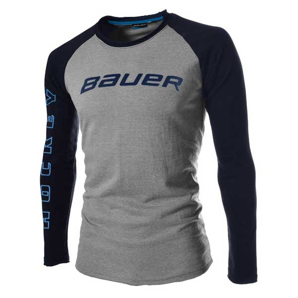 Bauer Long Sleeve Training 2-Tone Shirt