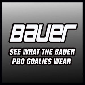 Bauer Goalies Hockey Goalie Equipment
