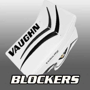 Goalies Plus Ice Hockey Blockers Bauer Vaughn CCM Brians Warrior