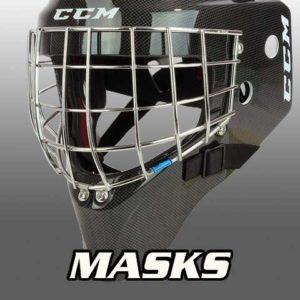 Goalies Plus Ice Hockey Masks Bauer Vaughn CCM Brians Warrior