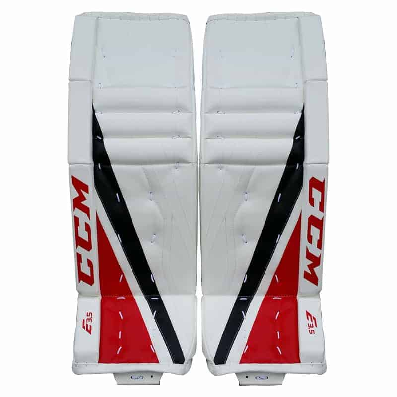 CCM Extreme Flex E3.5 Junior Goalie Leg Pads - Double Break