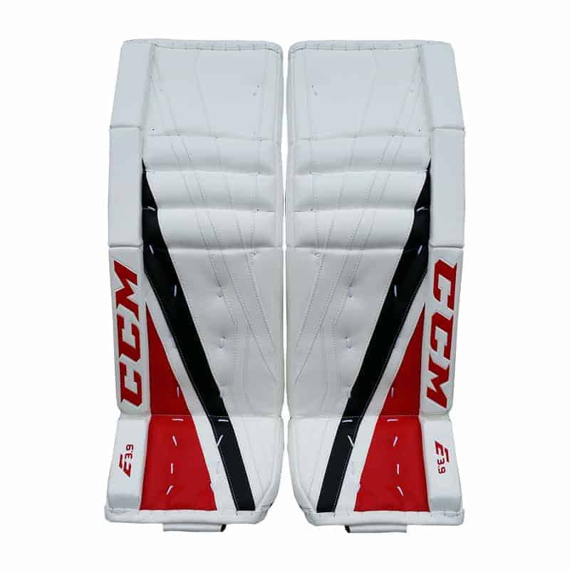CCM Extreme Flex E3.9 Intermediate Goalie Leg Pads - Double Break