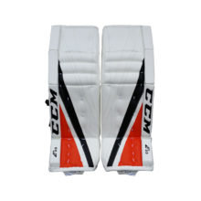 ccm-ice-hockey-goalie-leg-pads-extreme-flex-eflex-3-9-white-orange-black-main