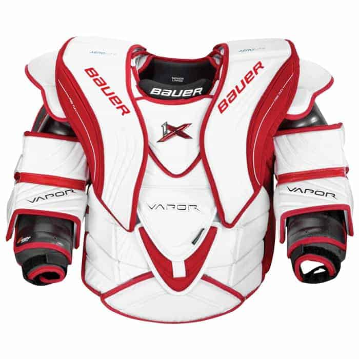 Goalies Plus Best Price Bauer Vapor 1x Senior Goalie Chest Protector