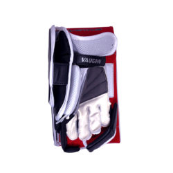 Vaughn Ventus SLR Pro Senior Goalie Blocker in Black, Red and White on the bottom