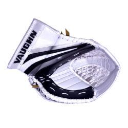 Vaughn Ventus SLR Pro Senior Goalie Glove in Black, Silver and White