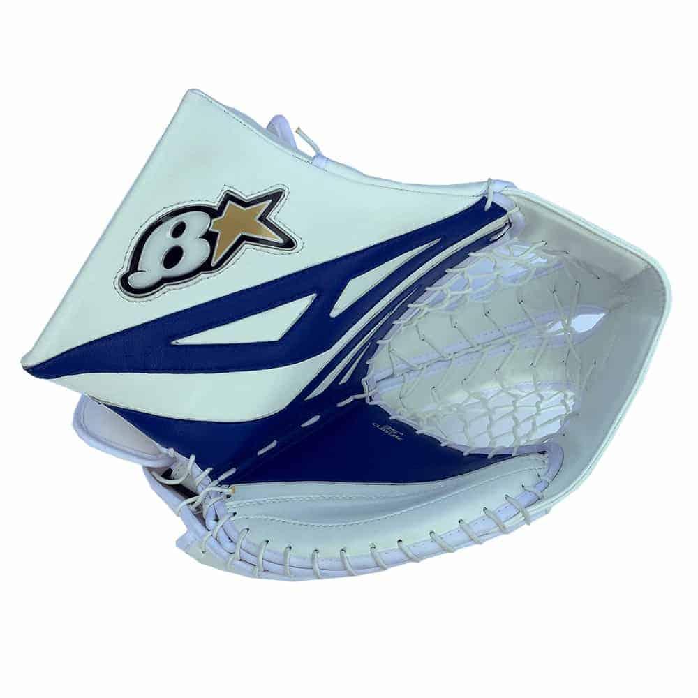 Brians G-Netik 8.0 Junior Goalie Glove Blue