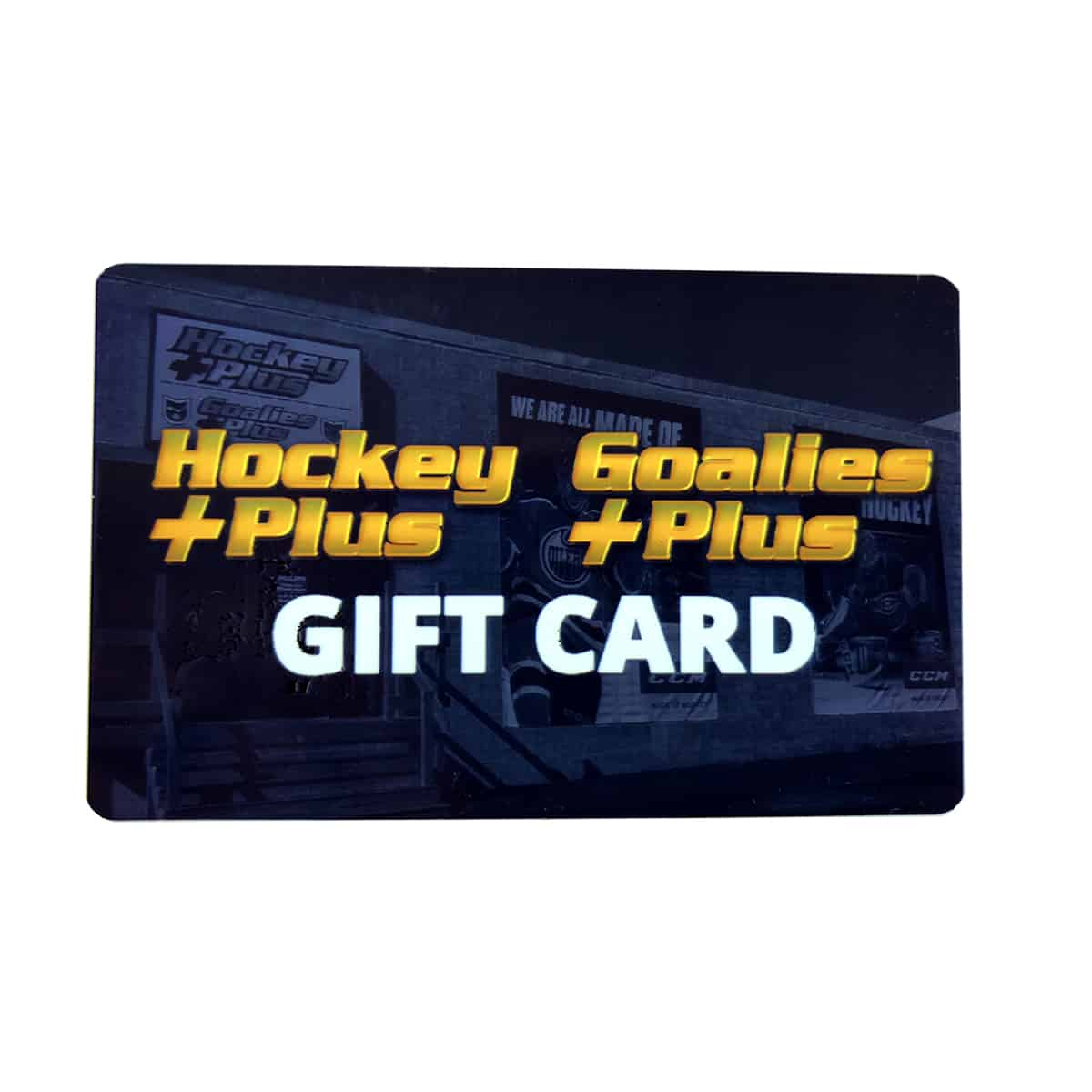 Goalies Plus Gift Card