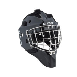 CCM 1.5 Youth Certified Straight Bar Goalie Mask Black