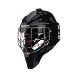 CCM 1.9 Senior Certified Straight Bar Goalie Mask Black