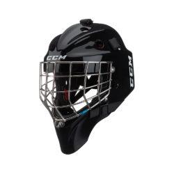 CCM 1.9 Senior Certified Straight Bar Goalie Mask Black