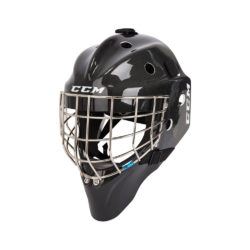 CCM Carbon 1.5 Junior Certified Straight Bar Goalie Mask Black