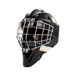 CCM Pro Senior Certified Straight Bar Goalie Mask Front