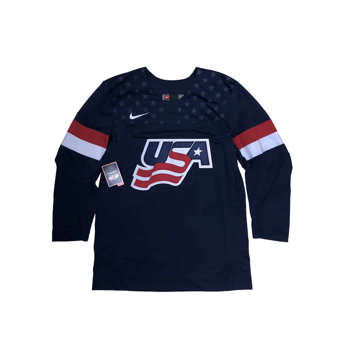 Authentic Nike USA Hockey Jersey f15792e4ee77b