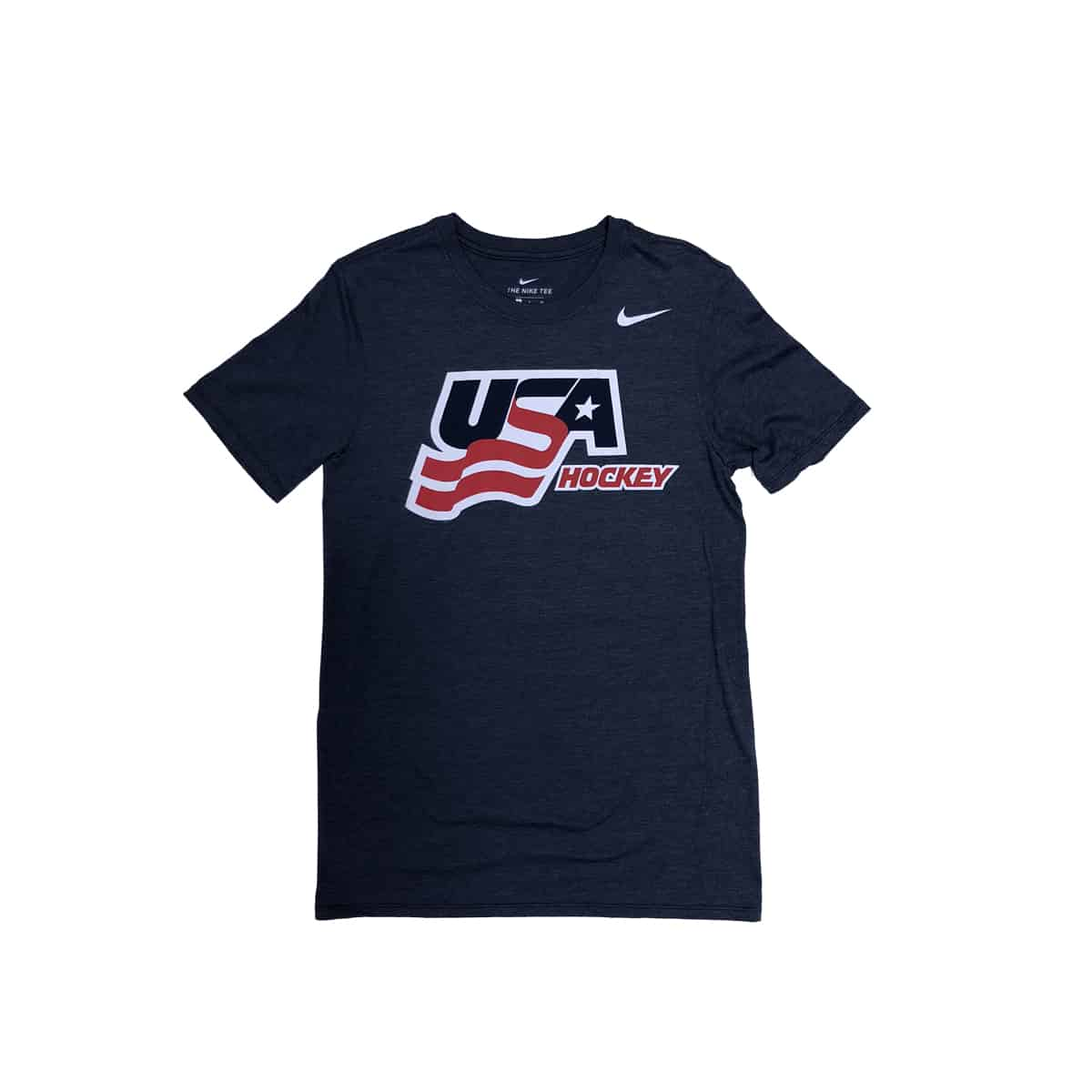 USA Hockey Nike Athletic Tri-Blend Tee