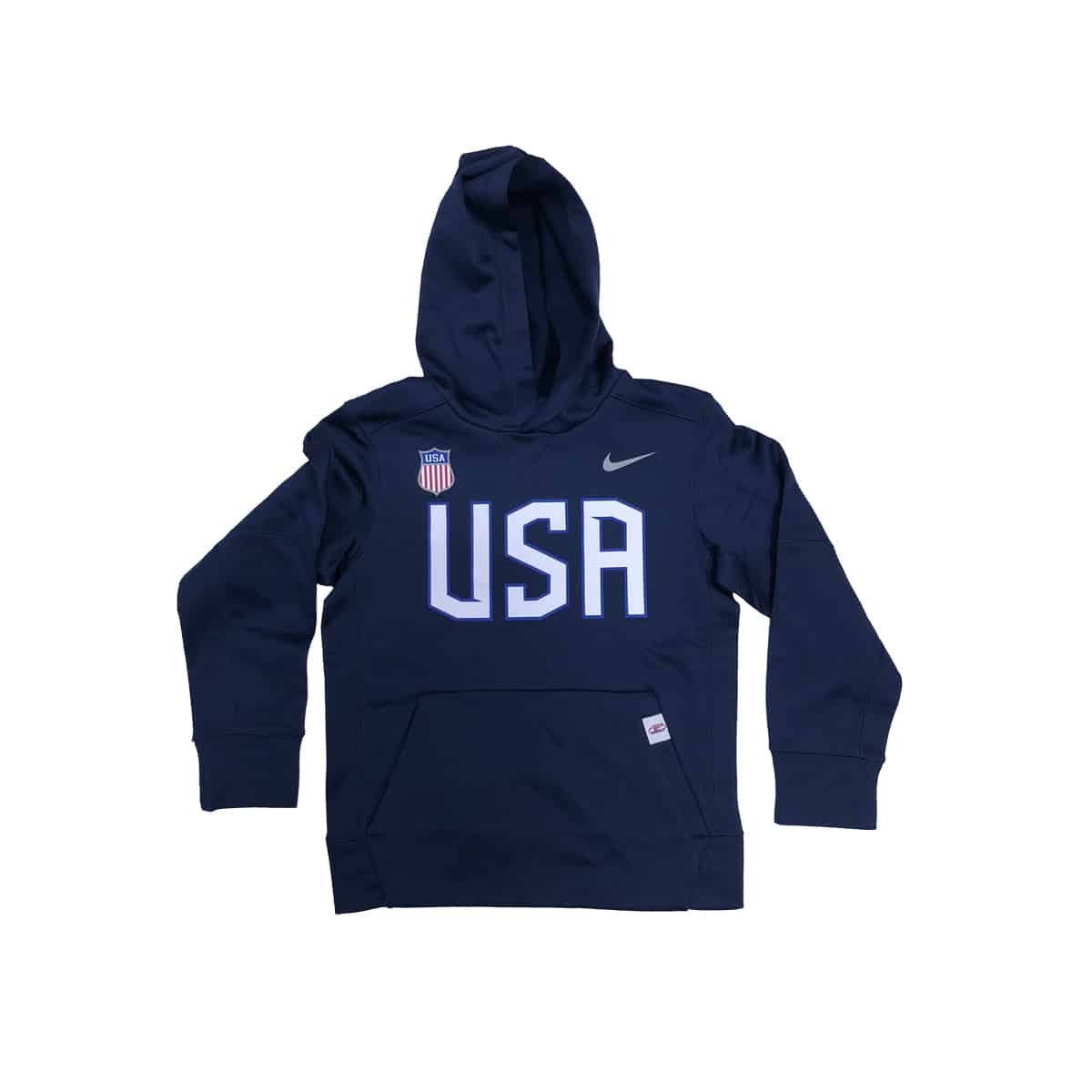c8d8af844a75 USA Hockey Youth Nike Therma Hoodie