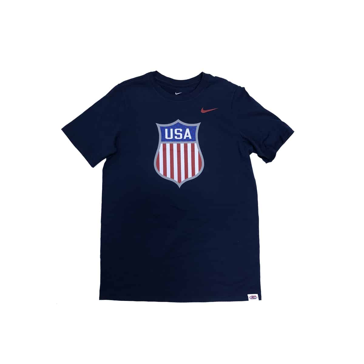 Team USA Nike Athletic Youth Tee in Navy