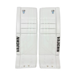Vaughn Velocity VE8 Intermediate Goalie Pads in All White