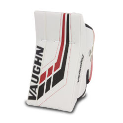 Vaughn Velocity VE8 Junior Goalie Blocker in White and Black and Red