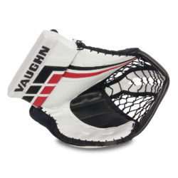 Vaughn Velocity VE8 Pro Senior Goalie Catch Glove in White Black and Red