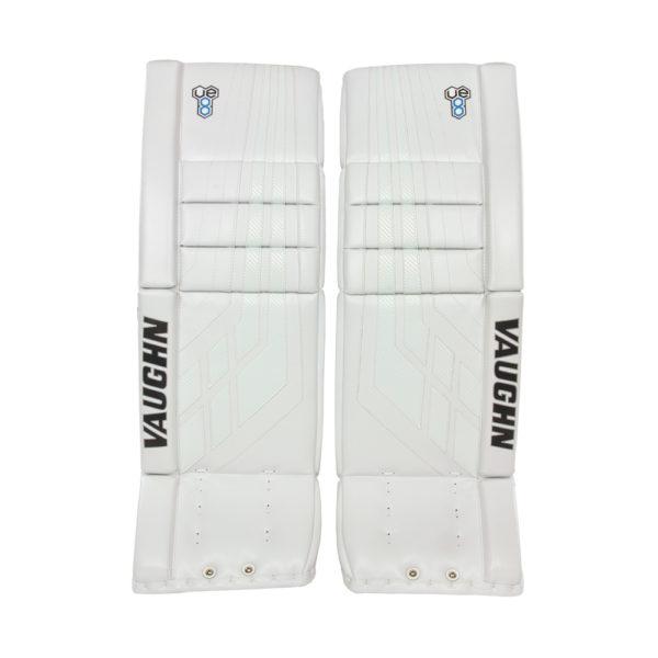 Vaughn Velocity VE8 Pro Senior Leg Pads All White