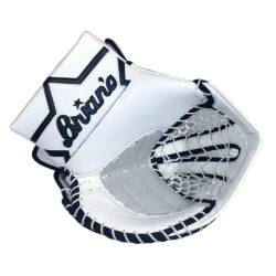 Brians Alite Junior Goalie Catch Glove in Black and White