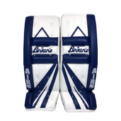 Brians Alite Junior Goalie Leg Pads in Blue and White