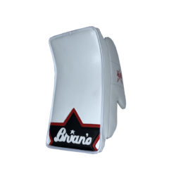 Brians Alite Junior Goalie Blocker in Black and Red