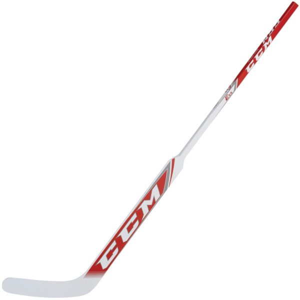 CCM Extreme Flex 3.9 Junior Goalie Stick in White and Red