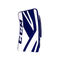 CCM Premier P2.9 Intermediate Goalie Blocker in Blue and White