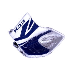 CCM Premier P2.9 Intermediate Goalie Catch Glove in Blue and White