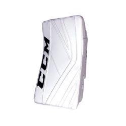 CCM Premier P2.9 Senior Goalie Blocker in All White
