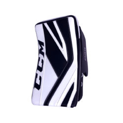 CCM Premier P2.9 Senior Goalie Blocker in Black and White