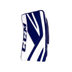 CCM Premier P2.9 Senior Goalie Blocker in Blue and White