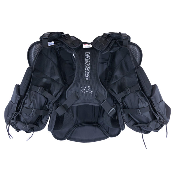 Vaughn Velocity VE8 Pro Carbon Chest Protector back