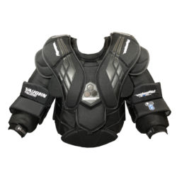 Vaughn Velocity VE8 Pro Carbon Chest Protector front