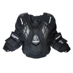 Vaughn Velocity VE8 Pro Carbon Senior Chest Protector Custom Black