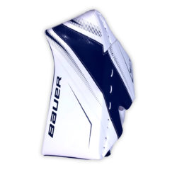 Bauer Supreme S27 Junior Goalie Blocker in Blue and White