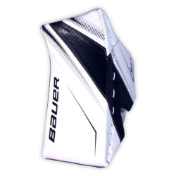 Bauer Supreme S27 Senior Goalie Blocker in Black and White