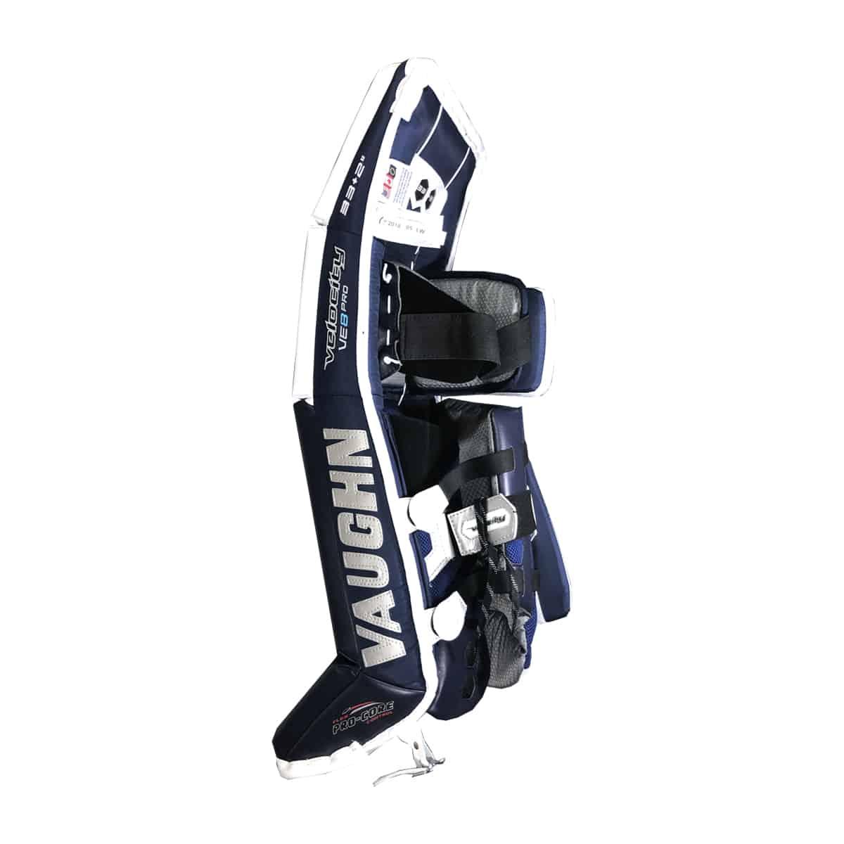 Vaughn Velocity VE8 Pro (Double Break) Senior Leg Pads - Special Edition
