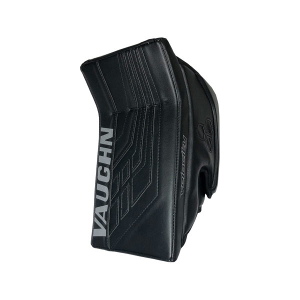 Vaughn Velocity VE8 Pro Senior Goalie Blocker in All Black
