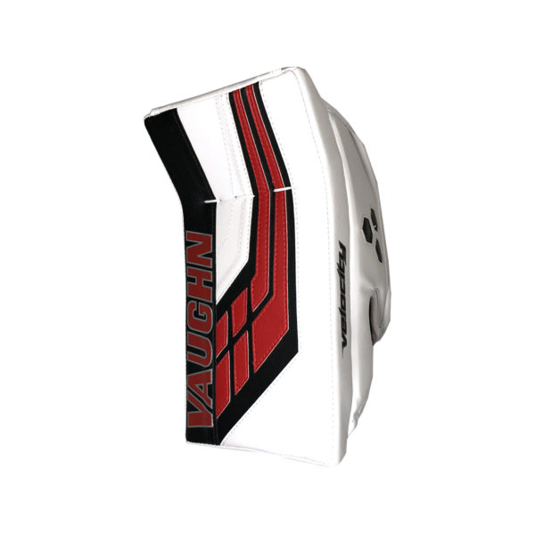 Vaughn Velocity VE8 Pro Senior Goalie Blocker in Red Black and White