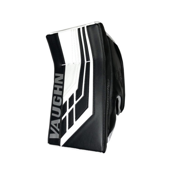 Vaughn Velocity VE8 Pro Senior Goalie Blocker in Black and WHite