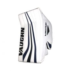 Vaughn Ventus SLR Pro Carbon Senior Goalie Blocker White and Navy Front