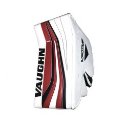 Vaughn Ventus SLR Pro Carbon Senior Goalie Blocker White and Red Front